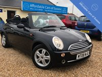 USED 2008 08 MINI CONVERTIBLE 1.6 ONE 2d 89 BHP Just in Time For Summer!