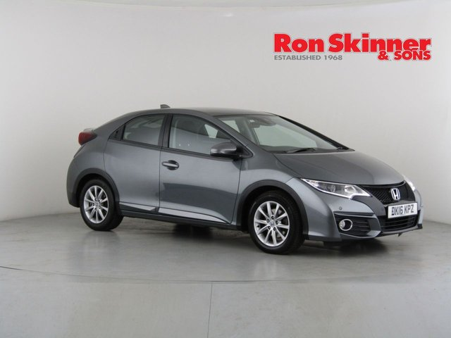 View our 2016 16 HONDA CIVIC 1.6 I-DTEC SE PLUS 5d 118 BHP