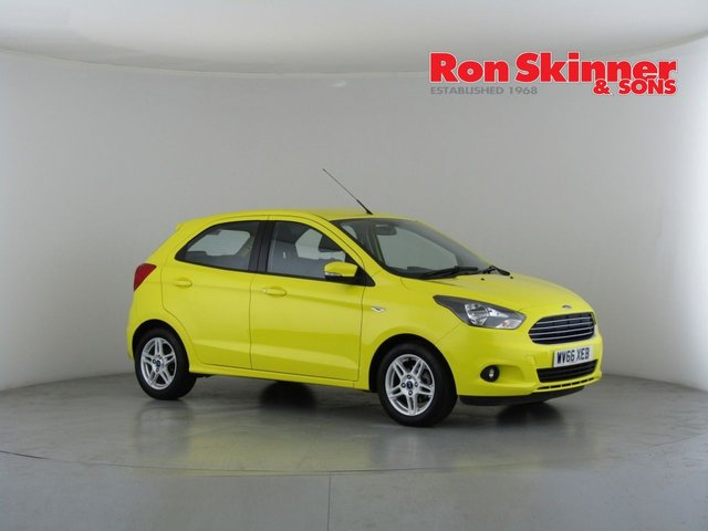 View our 2016 66 FORD KA+ 1.2 ZETEC 5d 84 BHP