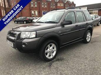 2005 LAND ROVER FREELANDER 2.0 TD4 HSE STATION WAGON 5d 110 BHP £2995.00