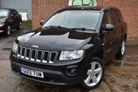 2012 JEEP COMPASS 2.4 LIMITED 5d AUTO 168 BHP £7490.00