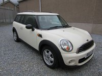 2013 MINI CLUBMAN 1.6 ONE D 5d   £6495.00