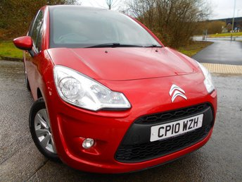 2010 CITROEN C3 1.4 VTR PLUS 5d 72 BHP ** ONE OWNER FROM NEW , PANORAMIC WINDSCREEN, YES ONLY 58K , FANTASTIC VEHICLE THROUGHOUT ** £3995.00