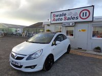 USED 2011 11 VAUXHALL CORSA 1.2 LIMITED EDITION 3d 83 BHP £20 PER WEEK, NO DEPOSIT - SEE FINANCE LINK