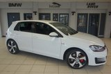 USED 2016 65 VOLKSWAGEN GOLF 2.0 GTI PERFORMANCE DSG 5d AUTO 226 BHP - full volkswagen service history FINISHED IN STUNNING WHITE WITH CROSS HATCH SPORT SEATS + FULL VW SERVICE HISTORY + SATELLITE NAVIGATION + XENON HEADLIGHTS + ADAPTIVE CRUISE CONTROL + HEATED FRONT SEATS + BLUETOOTH + DAB RADIO + PARKING SENSORS + 18 INCH ALLOYS