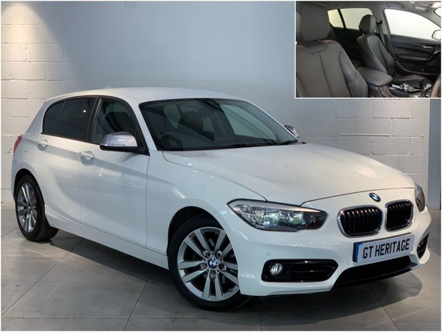 2018 67 BMW 1 SERIES 120D SPORT [NAV][HTD SEATS]
