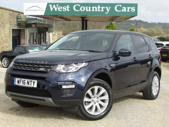 2016 LAND ROVER DISCOVERY SPORT 2.0 TD4 SE TECH 5d AUTO 180 BHP £24750.00