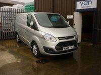 2014 FORD TRANSIT CUSTOM 2.2 270 LIMITED LR P/V 1d 124 BHP £9995.00
