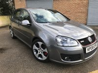 "USED 2008 08 VOLKSWAGEN GOLF 2.0 GTI 5d AUTO 197 BHP LEATHER 10 STAMPS FULL HEATED BLACK LEATHER, 18"" MONZA II ALLOYS, DSG"
