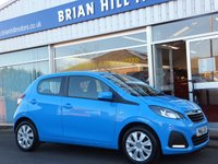 USED 2016 16 PEUGEOT 108 1.0 ACTIVE 5dr ....ONE  OWNER. FULL PEUGEOT SERVICE HISTORY. (Zero road tax & 68mpg)