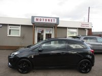 2016 VAUXHALL CORSA 1.0 LIMITED EDITION ECOFLEX S/S 3DR 115 BHP £7444.00
