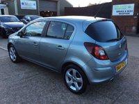 USED 2014 64 VAUXHALL CORSA 1.4 SXI AC 5d 98 BHP TWO OWNERS, AIR CONDITIONING, ALLOYS, 3 SERVICE STAMPS, SPARE KEY