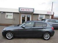2012 BMW 1 SERIES 1.6 116D EFFICIENTDYNAMICS 5DR DIESEL 114 BHP £6980.00