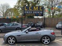 2016 MERCEDES-BENZ SLC 2.0 SLC 200 AMG LINE 2d AUTO 181 BHP £22000.00