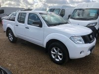 USED 2015 15 NISSAN NAVARA 2.5 DCI VISIA 4X4 SHR DCB 1d 144 BHP GREAT VALUE 4X4 ONLY 69000 MILES FANTASTIC CONDITION