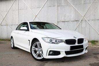 2016 BMW 4 SERIES 2.0 430I M SPORT 2d AUTO 248 BHP £19990.00