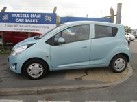 USED 2010 10 CHEVROLET SPARK 1.0 LS 5d 67 BHP 2 Owner Car .3 Stamps Of Service History. New MOT & Full Service Done on purchase + 2 Years FREE Mot & Service Included After . 3 Months Russell Ham Quality Warranty . All Car's Are HPI Clear . Finance Arranged - Credit Card's Accepted . for more cars www.russellham.co.uk  Spare Key & Owners Book Pack.
