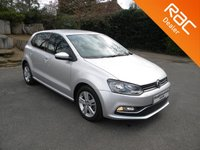 USED 2017 17 VOLKSWAGEN POLO 1.2 MATCH EDITION TSI DSG 5d AUTO 89 BHP 5 Door Automatic Petrol!! Cheap To Tax!! Alloy Wheels, Bluetooth Parking Sensors