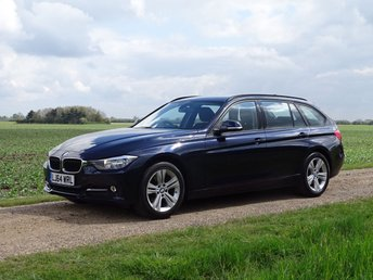 2014 BMW 3 SERIES 1.6 316I SPORT TOURING 5d 135 BHP £11995.00