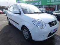 USED 2010 59 KIA PICANTO 1.0 1 5d 61 BHP LOW INSURANCE GROUP....TEST DRIVE TODAY CALL 01543 877320