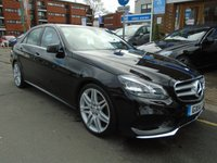 USED 2014 14 MERCEDES-BENZ E CLASS 2.1 E300 BLUETEC HYBRID AMG SPORT 4d AUTO 202 BHP SAT NAV, DAB, HEATED SEATS