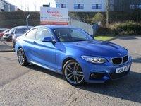 2016 BMW 2 SERIES 2.0 218D M SPORT 2d 148 BHP £13950.00