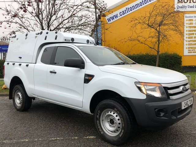 2013 62 FORD RANGER 2.2 XL 4X4 D/CAB [ MOBILE WORKSHOP UNIT ] TDCI 150 FACE LIFT
