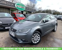 USED 2014 64 SEAT LEON 1.6 TDI SE TECHNOLOGY 3d 105 BHP