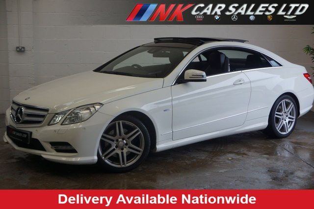 2012 12 MERCEDES-BENZ E-CLASS 2.1 E250 CDI BLUEEFFICIENCY S/S SPORT 2d AUTO 204 BHP PAN ROOF RESERVED FOR STEVE FROM DERBY