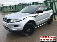 USED 2012 12 LAND ROVER RANGE ROVER EVOQUE 2.2 SD4 PRESTIGE 5d AUTO 190 BHP SAT NAV LEATHER SIDE STEPS 20 ALLOYS FSH 4WD. BLACK ROOF. SATELLITE NAVIGATION. STUNNING SILVER MET WITH FULL BLACK LEATHER TRIM. ELECTRIC HEATED MEMORY SEATS. CRUISE CONTROL. SIDE BARS. 20 INCH BLACK ALLOYS. COLOUR CODED TRIMS. PARKING SENSORS. REVERSING CAMERA. BLUETOOTH PREP. CLIMATE CONTROL INCLUDING AIR CON. MULTIMEDIA SYSTEM. R/CD/DAB RADIO. MFSW. MOT 03/20. FULL SERVICE HISTORY. PRESTIGE SUV CENTRE - LS24 8EJ. TEL 01937 849492 OPTION 1
