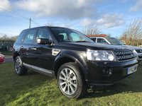 2012 LAND ROVER FREELANDER 2.2 TD4 GS AUTO 4X4 ONE OWNER+LR 39000 MILES FSH  £11995.00
