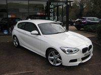 2013 BMW 1 SERIES 2.0 125I M SPORT 3d 215 BHP £10990.00