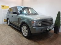2003 LAND ROVER RANGE ROVER 4.4 V8 VOGUE 5d AUTO 282 BHP £SOLD