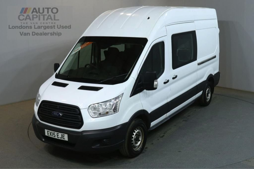 USED 2015 15 FORD TRANSIT 2.2 350 L3 H3 124 BHP 7 SEATER COMBI  FITTED TABLE & MICROWAVE