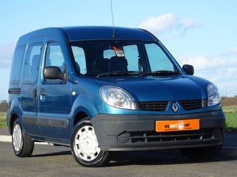 2008 RENAULT KANGOO 1.6 AUTHENTIQUE 16V 5d AUTO 94 BHP £2450.00