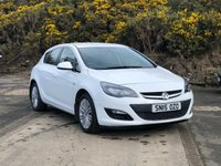 USED 2015 15 VAUXHALL ASTRA 1.4 EXCITE 5d 98 BHP 2 PREVIOUS KEEPER *  CLIMATE CONTROL *  HALF LEATHER TRIM *  MOT OCTOBER 2019 *  17 INCH ALLOYS *
