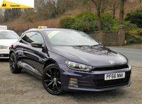 2016 VOLKSWAGEN SCIROCCO 1.4 GT BLACK EDITION TSI BMT 2d 123 BHP £13995.00