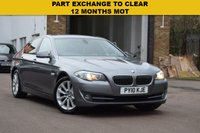 USED 2010 10 BMW 5 SERIES 2.0 520D SE 4d 181 BHP PART EXCHANGE TO CLEAR, JUST BEEN MOT'D, hpi clear, GREAT VALUE AT £4950.