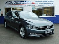 USED 2015 65 VOLKSWAGEN PASSAT 2.0L SE BUSINESS TDI BLUEMOTION TECHNOLOGY 5d 148 BHP