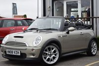 USED 2008 08 MINI CONVERTIBLE 1.6 COOPER S SIDEWALK 2d 168 BHP Full Service History With 6 Stamps