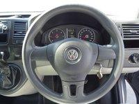 USED 2014 14 VOLKSWAGEN TRANSPORTER 2.0 T30 TDI P/V STARTLINE BMT 1d AUTO 140 BHP VW TRANSPORTER STARTLINE AUTO COLOUR CODED AIR CON ALLOYS STUNNING VAN