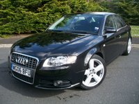 USED 2006 06 AUDI A4 2.0 TDI S LINE TDV 4d 140 BHP Beautiful Example Throughout, JUST Two Careful Owners From New, ONLY 69,000 Miles with Full Service History!!!