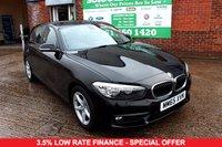 USED 2015 65 BMW 1 SERIES 1.5 116D ED PLUS 5d 114 BHP +SAT NAV +FREE TAX +FSH.