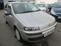 2002 FIAT PUNTO 1.2 ELX 5d 59 BHP £POA