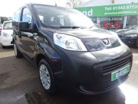 USED 2013 13 PEUGEOT BIPPER 1.2 HDI TEPEE S 5d 75 BHP £0 DEPOSIT FINANCE DEAL AVAILABLE....£30 A YEAR ROAD TAX....CALL TODAY ON 01543 877320