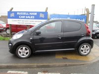 USED 2012 12 PEUGEOT 107 1.0 ALLURE 5d 68 BHP Zero £0.00 Road Tax . 5 Stamps Of Service History. New MOT & Full Service Done on purchase + 2 Years FREE Mot & Service Included After . 3 Months Russell Ham Quality Warranty . All Car's Are HPI Clear . Finance Arranged - Credit Card's Accepted . for more cars www.russellham.co.uk  Spare Key & Owners Book Pack..