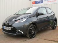 USED 2017 66 TOYOTA AYGO 1.0 VVT-I X-PLAY 5d 69 BHP IDEAL FIRST CAR