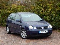 2002 VOLKSWAGEN POLO 1.4 SE 5d 74 BHP £2470.00