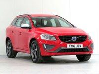 2016 VOLVO XC60 2.0 D4 R-DESIGN NAV 5d AUTO 188 BHP £18365.00