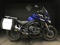 USED 2012 12 TRIUMPH TIGER EXPLORER 1215. 1 OWNER. 18K MILES. FSH. EXTRAS. LUGGAGE